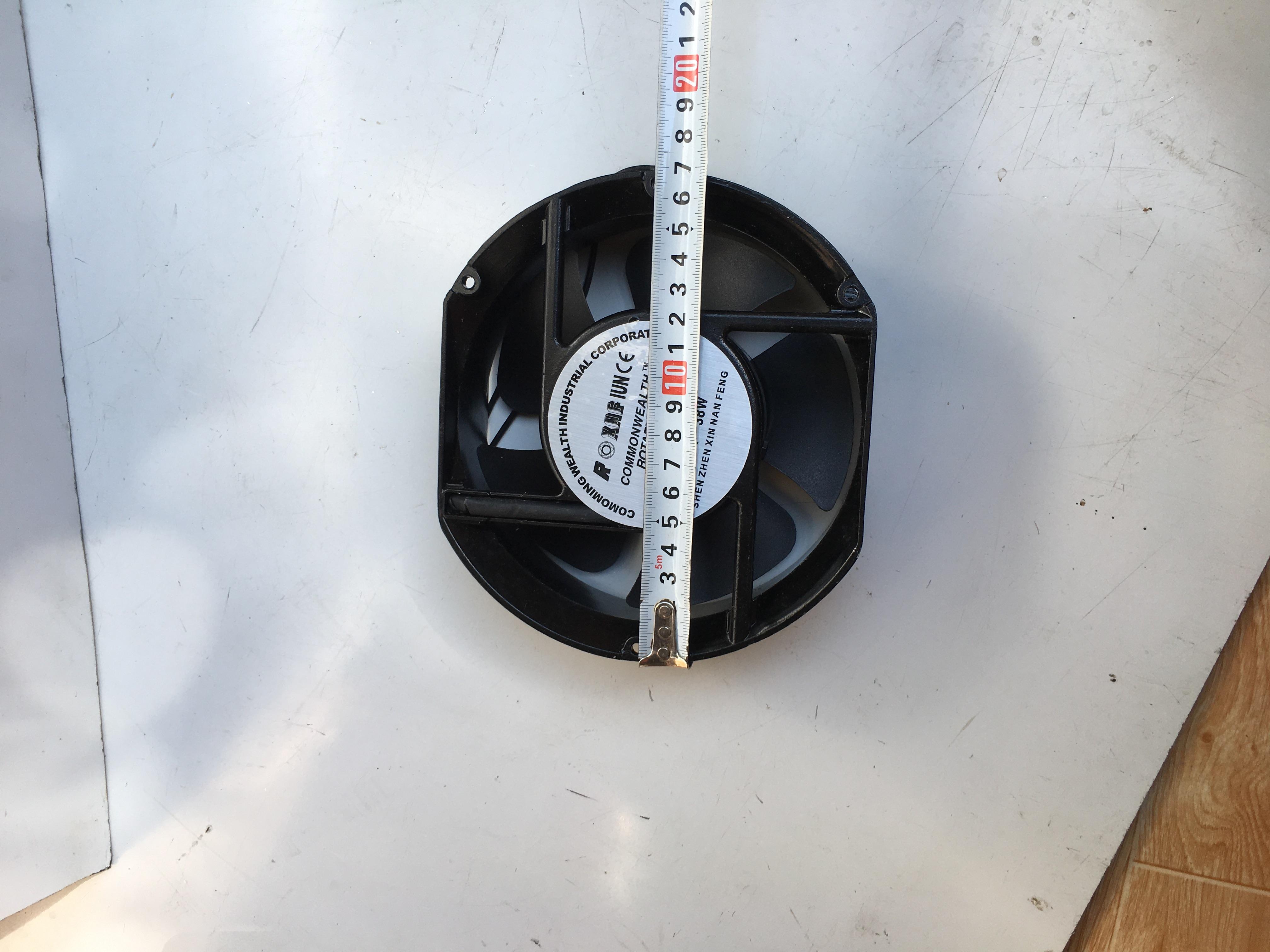 Quạt hướng trục FP-108EX-S1-S/B dây đồng nguyên chất 17250 17251 Máy hàn điện Quạt làm mát