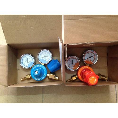 Bộ đồng hồ gió đá Oxy- LPG loại nhỏ